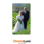 "ChromaLuxe Sublimation Blank Aluminum Photo Panel - 9"" x 21"" - Gloss White"