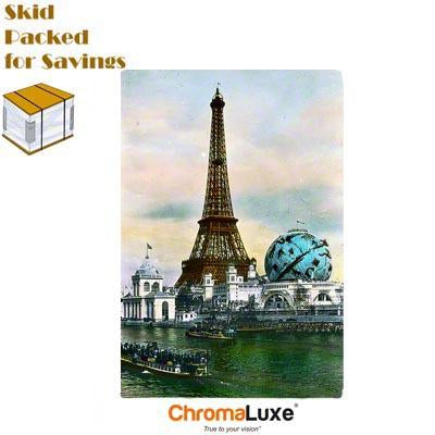 "ChromaLuxe Sublimation Blank Aluminum Photo Panel - 20"" x 30"" - Gloss White"