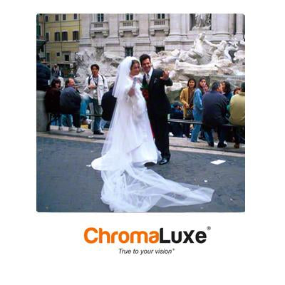 "ChromaLuxe Sublimation Blank Aluminum Photo Panel - 20"" x 20"" - Gloss White"