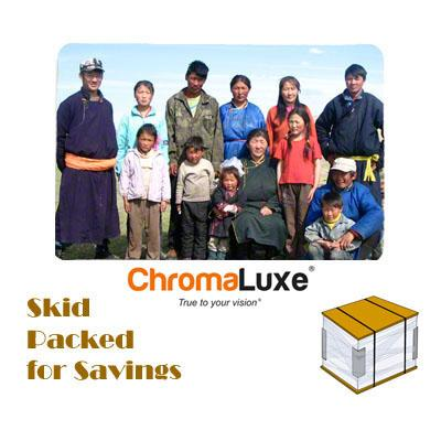 "ChromaLuxe Sublimation Blank Aluminum Photo Panel - 24"" x 36"" - Gloss White"