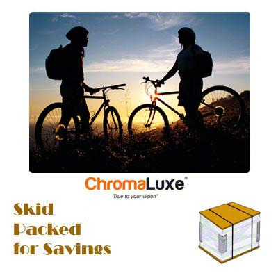 "ChromaLuxe Sublimation Blank Aluminum Photo Panel - 30"" x 40"" - Gloss White"