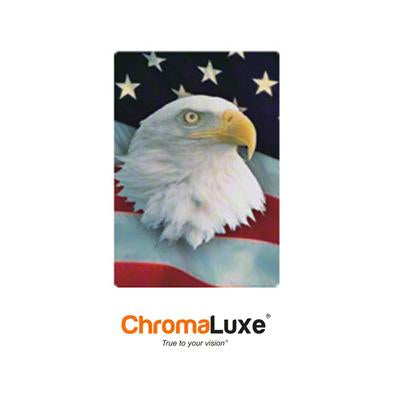 "ChromaLuxe Sublimation Blank Aluminum Photo Panel - 8"" x 12"" - Gloss White"