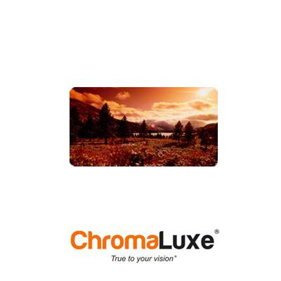 "ChromaLuxe Sublimation Blank Aluminum Photo Panel - 5"" x 10"" - Gloss Clear"