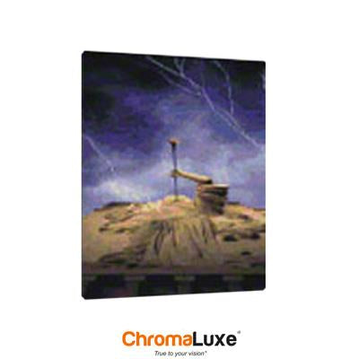 "ChromaLuxe Sublimation Blank Aluminum Photo Panel - 8"" x 10"" - Gloss White"