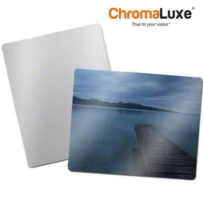 "ChromaLuxe Sublimation Blank Aluminum Photo Panel - 8"" - 10"" - Gloss Clear"