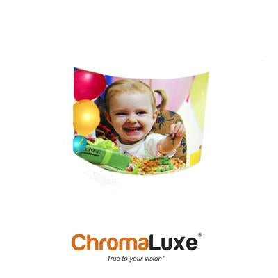 "ChromaLuxe Sublimation Blank Aluminum Photo Panel - 5"" x 7"" - 2-Sided - Gloss White"