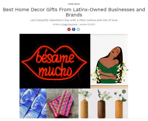 Best Home Decor Gifts From Latinx-Owned Businesses and Brands