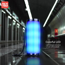 Load image into Gallery viewer, Portable Wireless Speaker with LED Flashing Lights