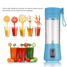 Load image into Gallery viewer, Rechargeable Electric Fruit Juicer Cup