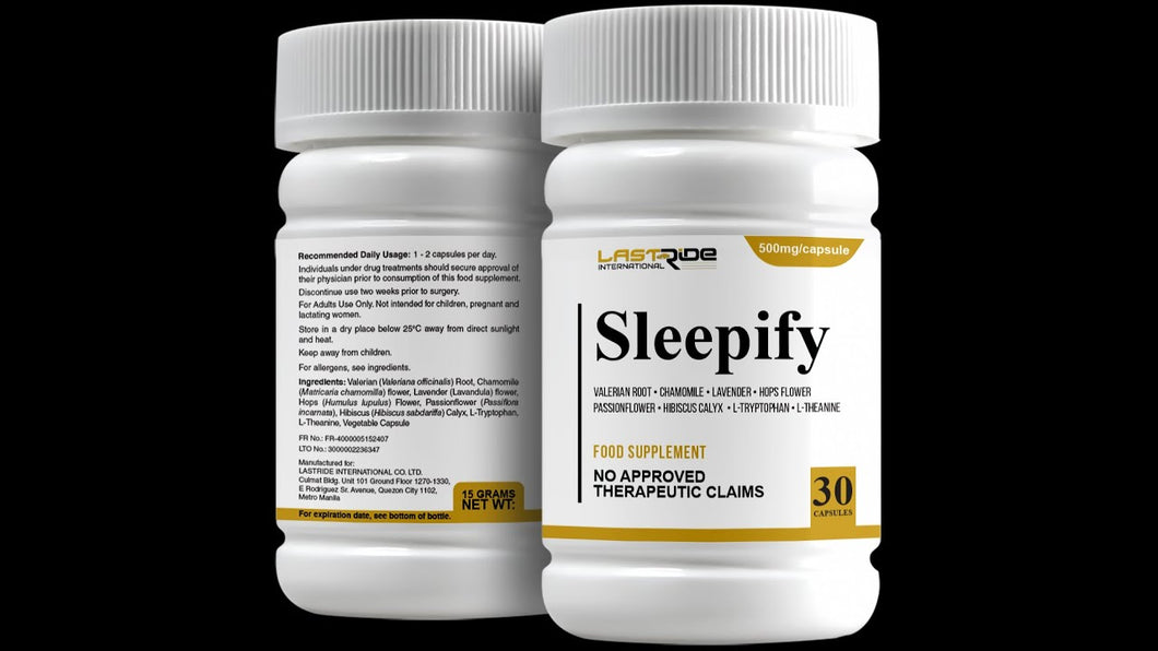 Sleepify for a longer and better sleep