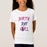 Disney characters, Name, Age | Birthday Girl T-Shirt, Youth Kid Child White Birthday Tshirt - RazKen Gifts Shop - 1 Day Processing time - Fast Shipping
