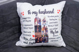 Personalized Pillow To My Daughter, Son, Friend, Grandson, Dad, I hugged This Soft Pillow - RazKen Gifts Shop