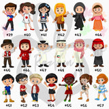 Personalized Character Kids Cartoon Avatar Mug This person is Loved By Mug - RazKen Gifts Shop - 1 Day Processing time - Fast Shipping