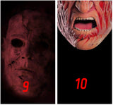 Scary Horror 16 Designs Adult Face Scarf, Face Covering, Neck Gaiter - RazKen Gifts Shop - 1 Day Processing time - Fast Shipping