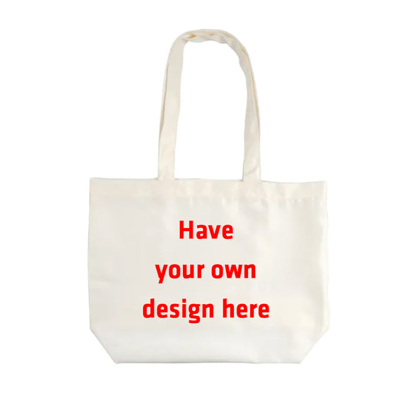 Personalized Have Your Own Design Reusable Tote Bag - RazKen Gifts Shop