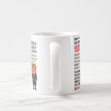 Personalized Gift Funny Trump Great Dad, Mom, Husband, Friend, Wife, Sister, Boss Mug - RazKen Gifts Shop - 1 Day Processing time - Fast Shipping