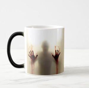 The Walking Dead Zombie Colour Changing Heat Sensitive Mug, Surprise Gift, Scary Mug - RazKen Gifts Shop