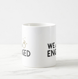 We are engaged, Engagement, Announcement, Marriage, Coffee Mug Gift Coffee Mug - RazKen - RazKen Gifts Shop - 1 Day Processing time - Fast Shipping