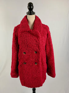 Romantic Red Jacket