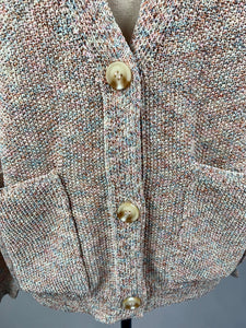 NEW! Marled Yarn Spring Cardigan