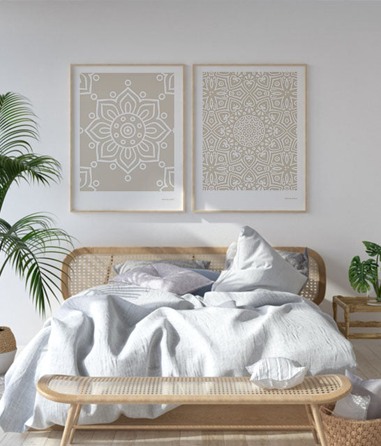 Andalusian Tile Prints | Shadow Cream