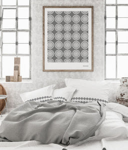 Andalusian Tile Prints | Stone Grey