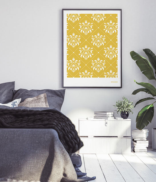 Andalusian Tile Prints | Sunset Yellow