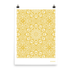 Print Sunset Yellow 004