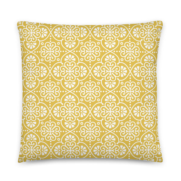 Cushion Sunset Yellow 004