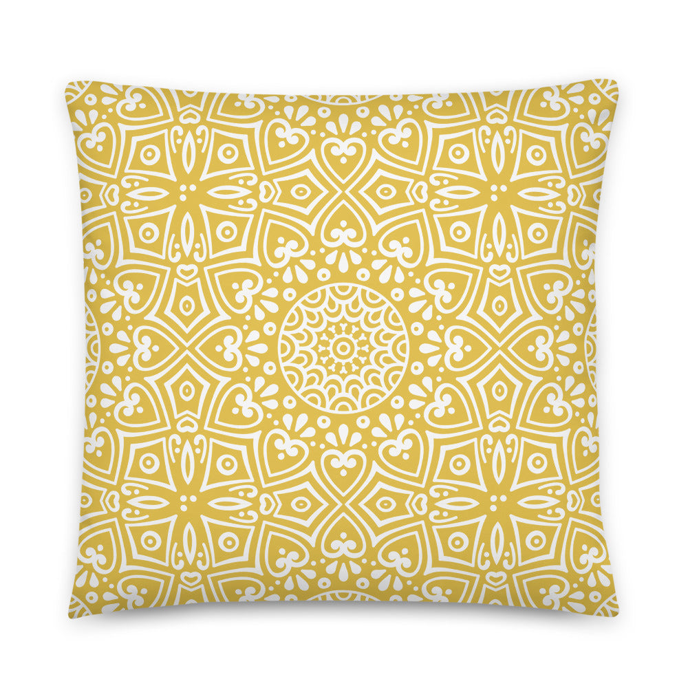 Cushion Sunset Yellow 003
