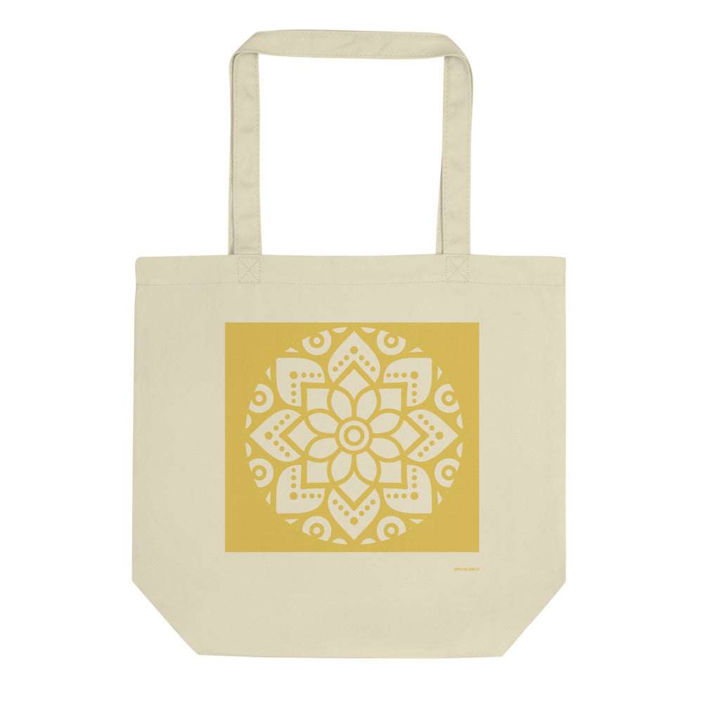 Eco Tote Bag Sunset Yellow 006