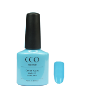 855 CCO UV LED GEL, BLUE WISH - UV Gel Soak off Nail Polish