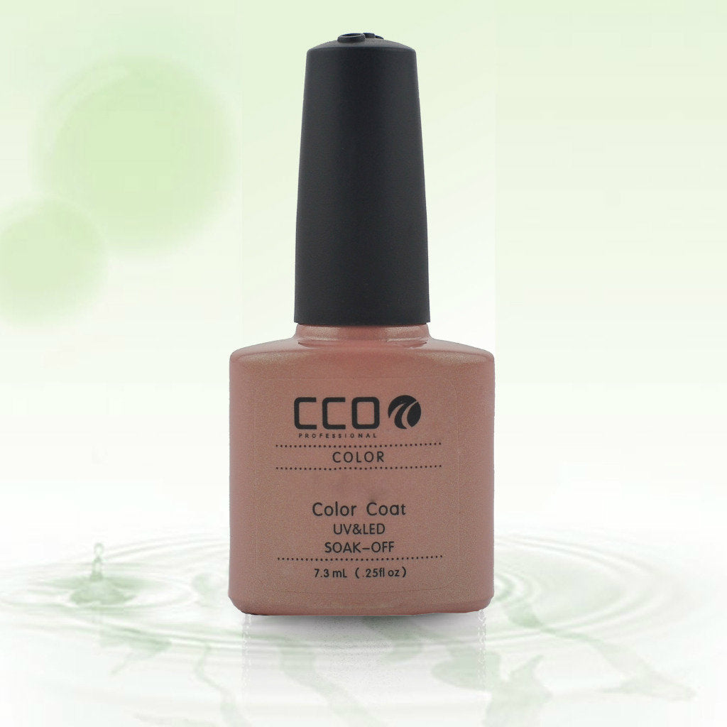 03 CCO UV LED GEL, CAPUCCINO - UV Gel Soak off Nail Polish