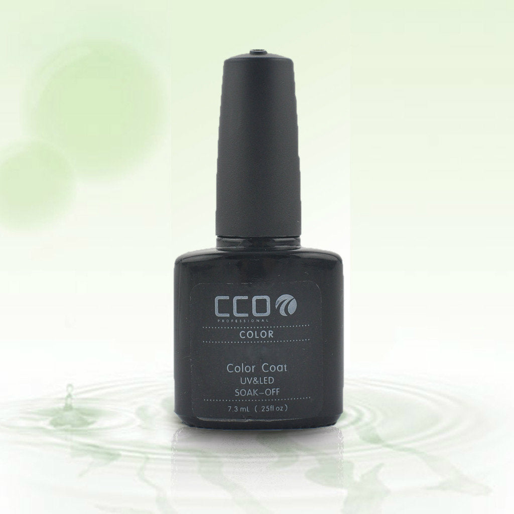 10 CCO UV LED GEL, PURPLACK LILY - UV Gel Soak off Nail Polish