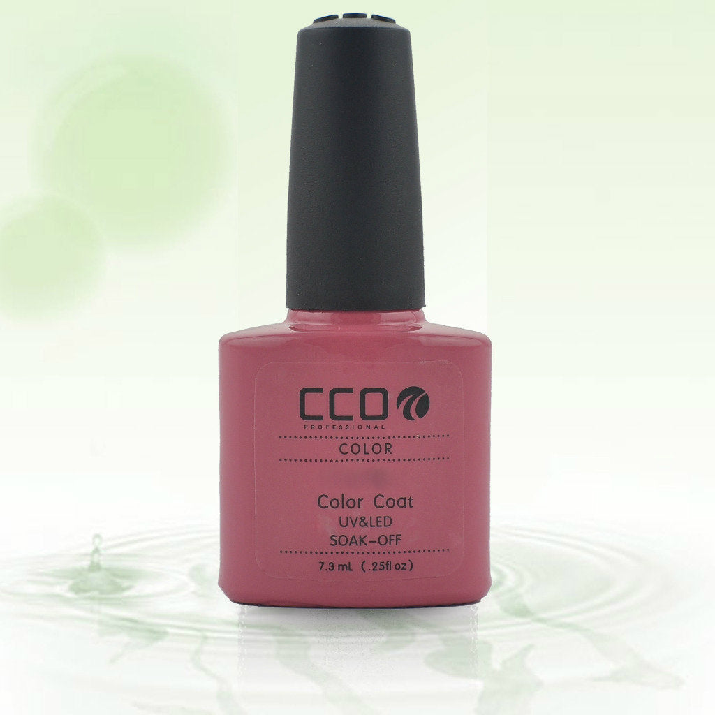 11 CCO UV LED GEL, ROSE BLUSH - UV Gel Soak off Nail Polish