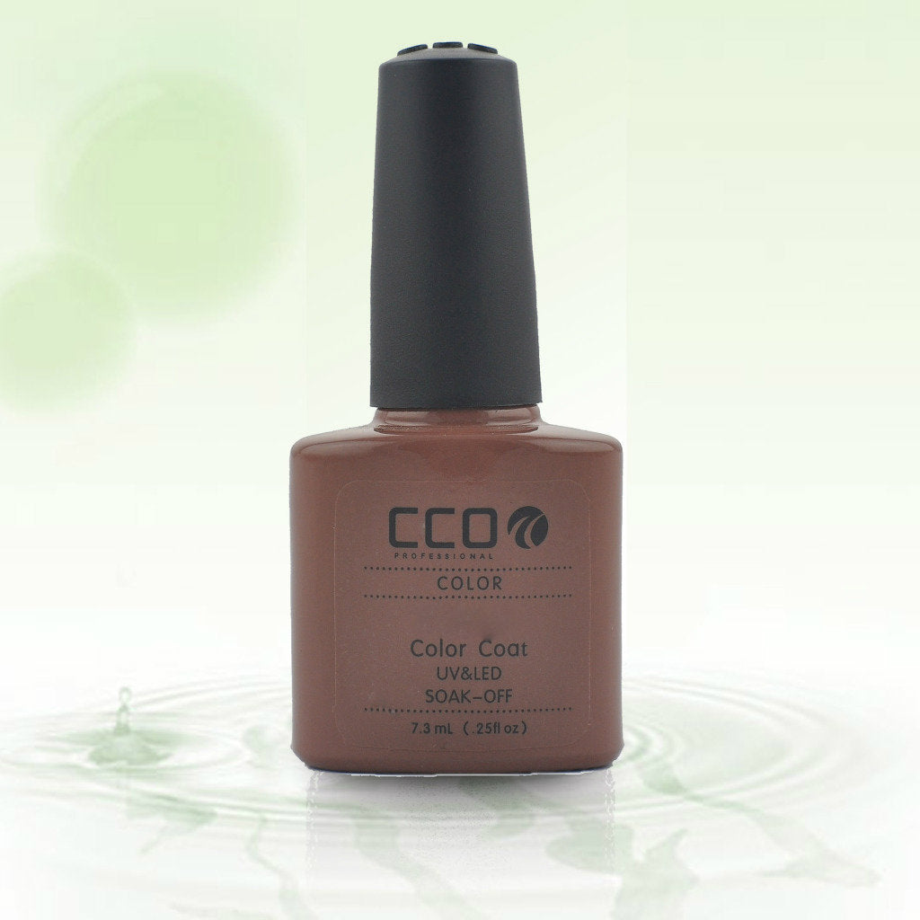 14 CCO UV LED GEL, LATTE - UV Gel Soak off Nail Polish