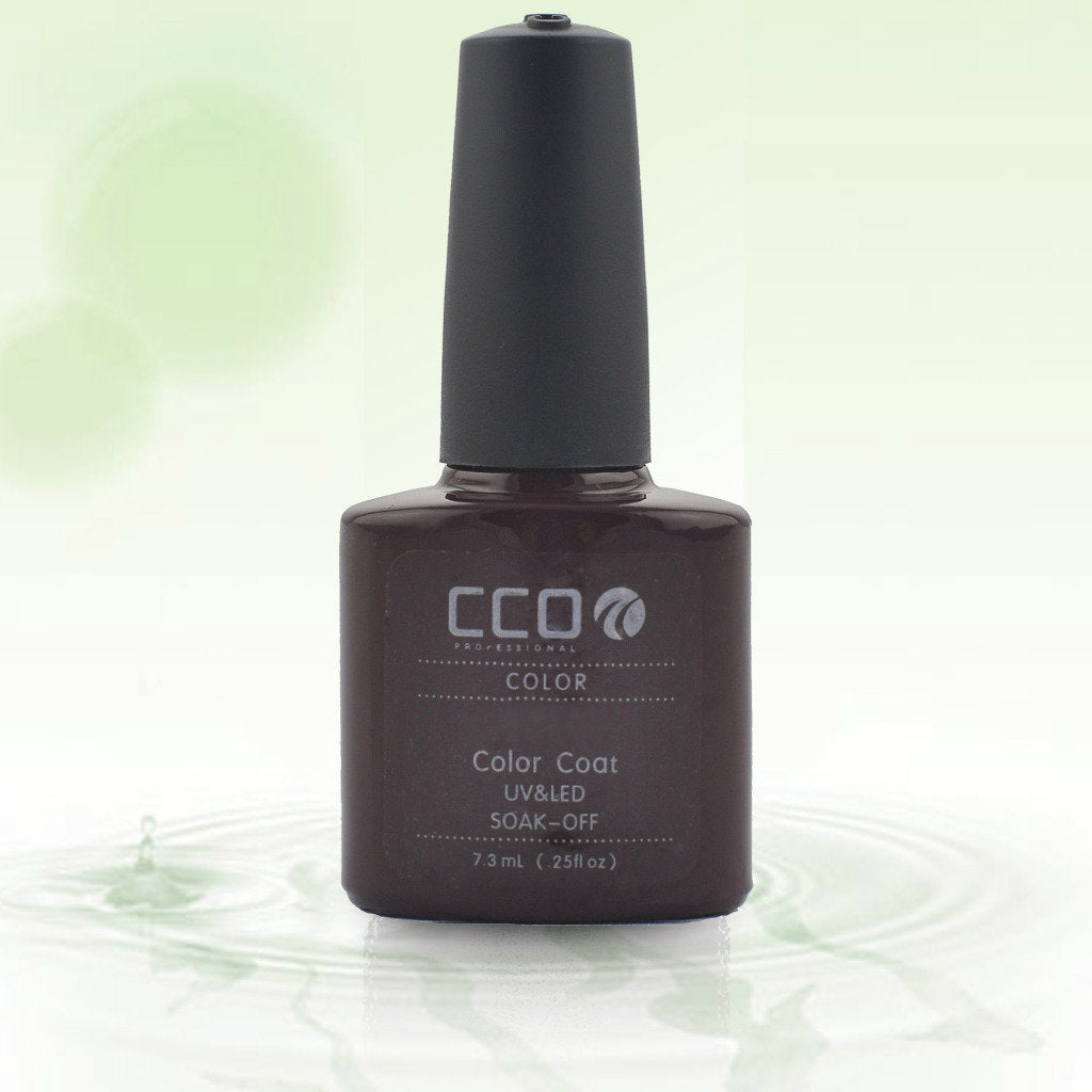 25 CCO UV LED GEL, RED VIXEN - UV Gel Soak off Nail Polish