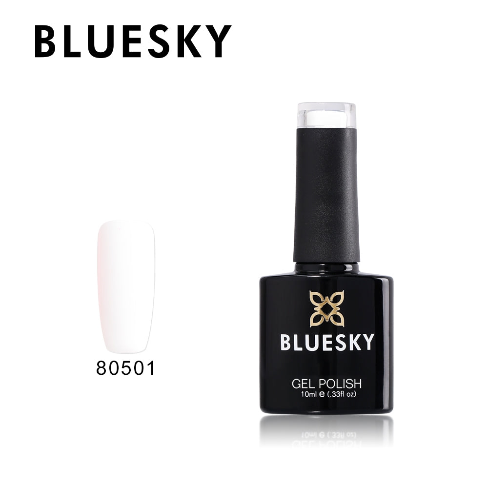 80501 FRENCH WHITE - UV LED Gel Soak off Nail Polish 10ml