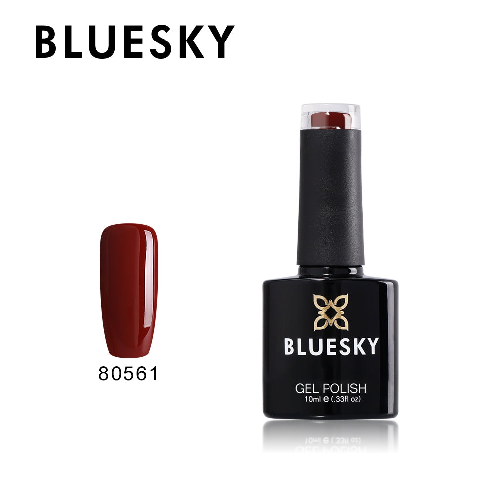 80561 Burnt Red Brown - UV LED Gel Soak off Nail Polish 10ml