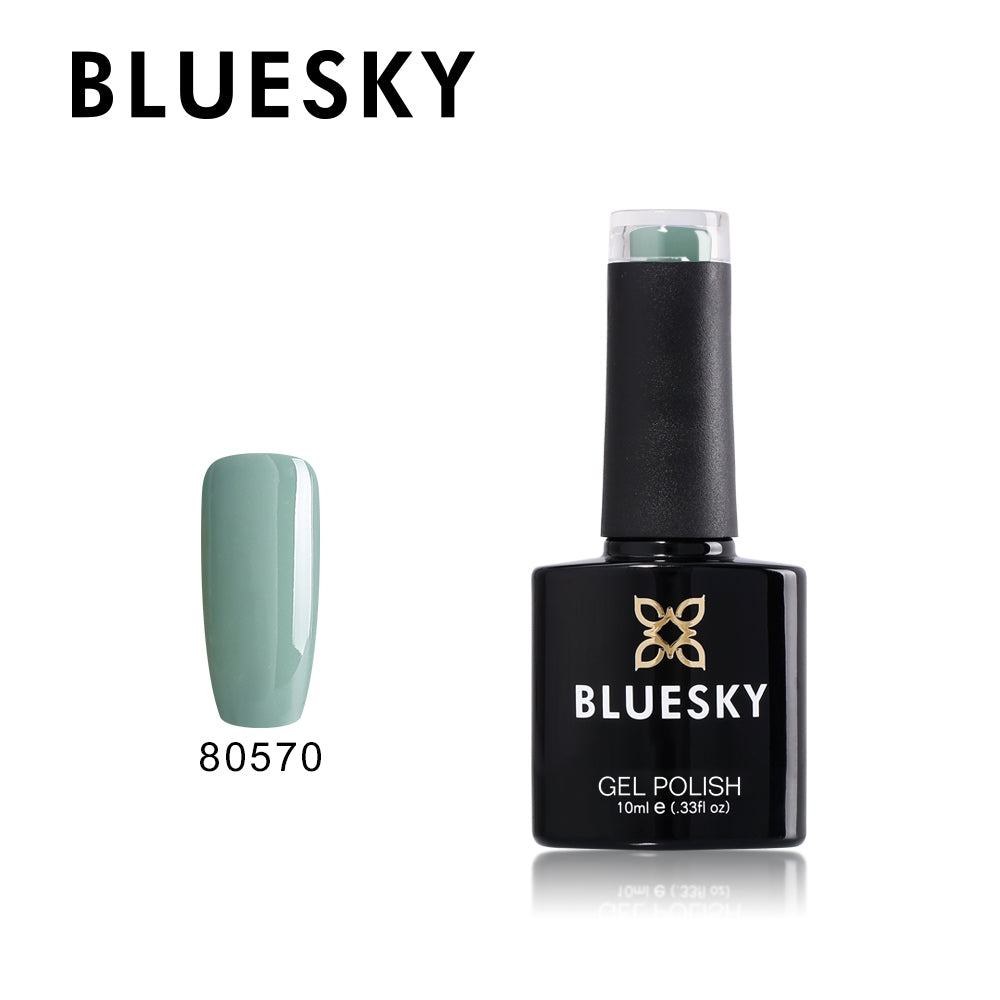 80570 Sage Green - UV LED Gel Soak off Nail Polish 10ml