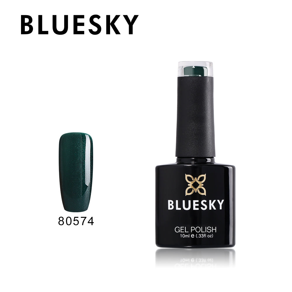 80574 Forest Green - UV LED Gel Soak off Nail Polish 10ml