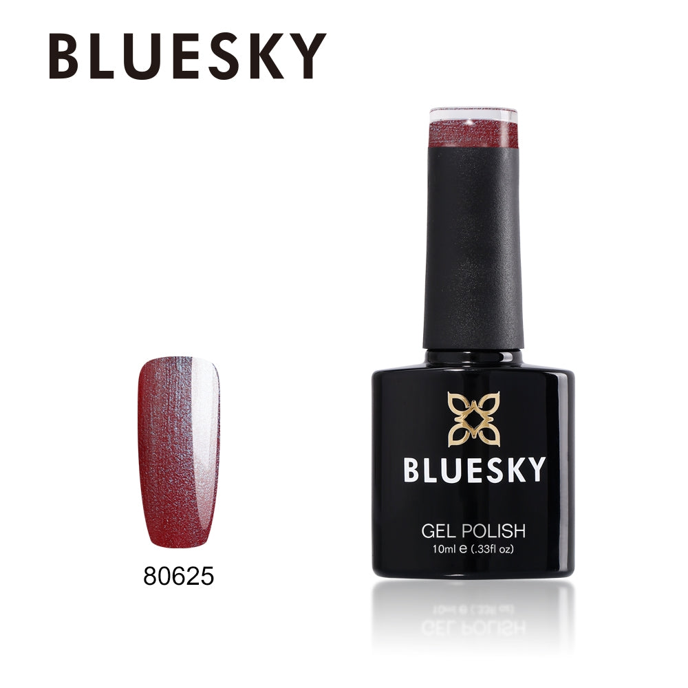 Bluesky UV LED Gel Soak Off Nail Polish, 625 Patina Buckle 10ml