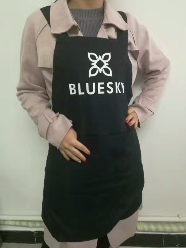 Bluesky Black Apron