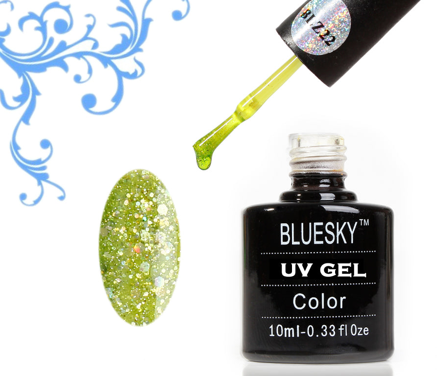 22 BLZ LIME GREEN - UV LED Gel Soak off Nail Polish 10ml