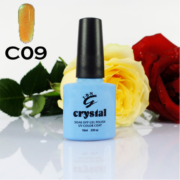 C09 IBN CRYSTAL UV LED GEL SUNFLOWER YELLOW 10ml