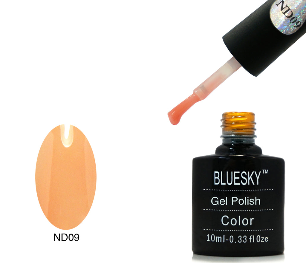ND09 Orange Nude - UV LED Gel Soak off Nail Polish 10ml