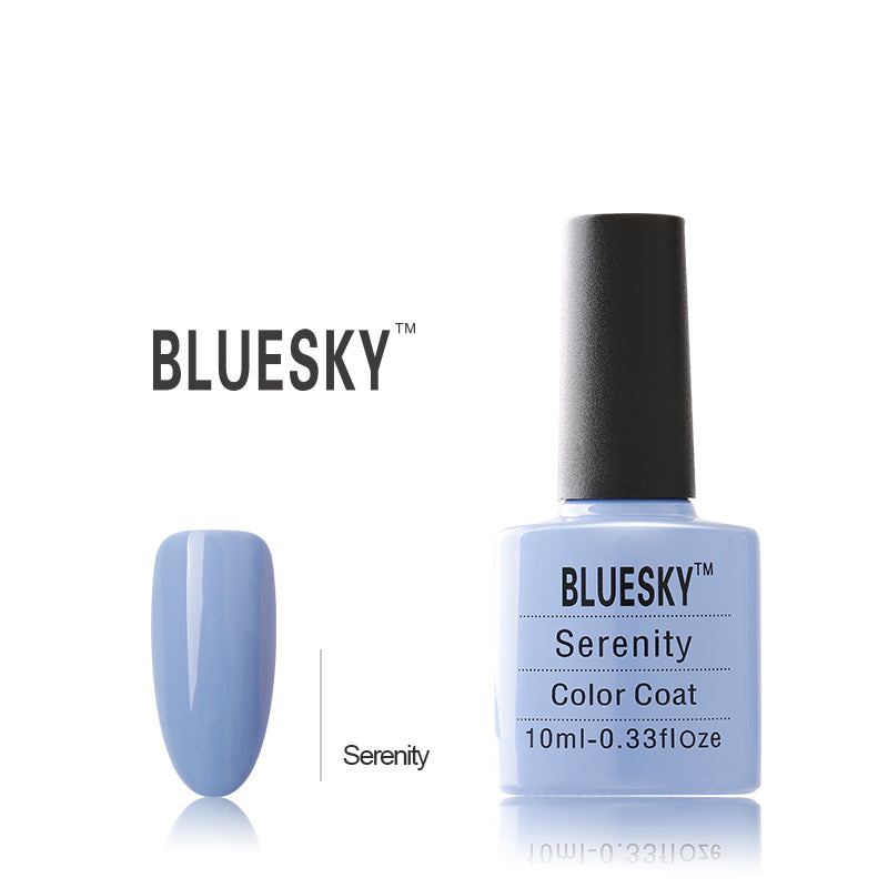 Bluesky UV LED Gel Soak Off Nail Polish, Serenity 10ml
