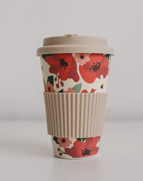 Floral Travel Cup