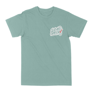 Cleat Check T-Shirt - Seafoam