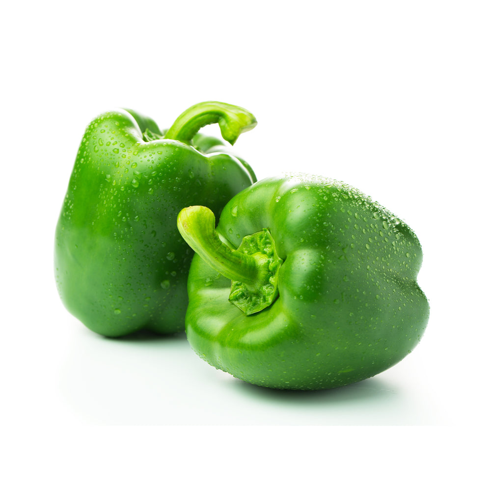 Green Bell Pepper 3pcs (1.8-2.4lbs)